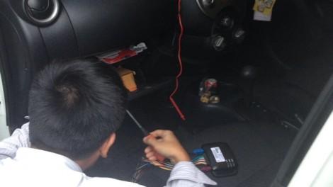 ภาพการติดตั้ง GPS